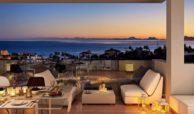 scenic appartement penthouse kopen estepona wandelafstand haven zeezicht lounge