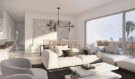scenic appartement penthouse kopen estepona wandelafstand haven zeezicht salon