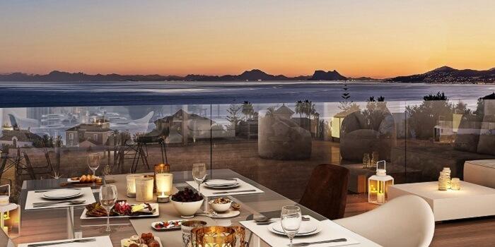 scenic appartement penthouse kopen estepona wandelafstand haven zeezicht solarium