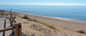 Het strand van Las Chapas