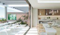syzygy residences te koop appartementen cancelada new golden mile estepona keuken