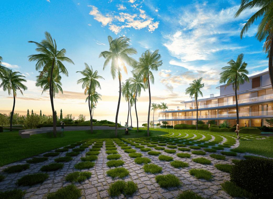 the edge estepona appartement eerstelijns strand zeezicht huis kopen marbella beplanting