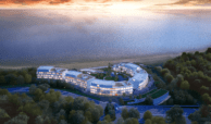 the edge estepona appartement eerstelijns strand zeezicht huis kopen marbella luchtfoto