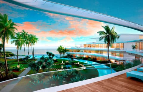 The Edge: spectaculair eerstelijns zee design appartementen project (Estepona)