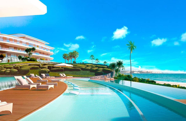 the edge estepona appartement eerstelijns strand zeezicht huis kopen marbella zwembad 1