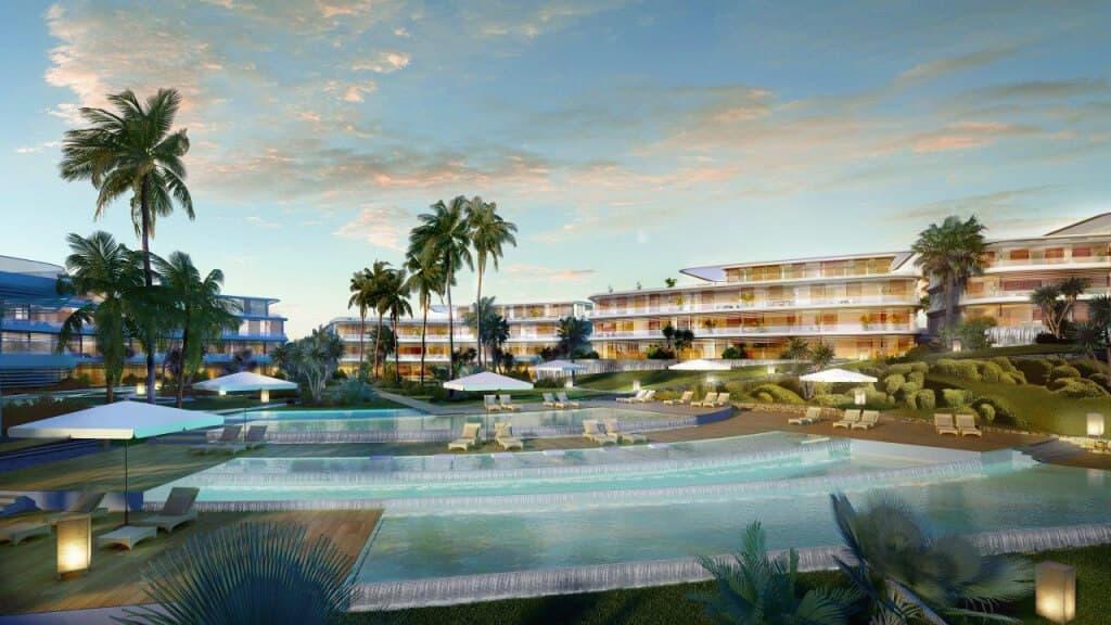 the edge estepona appartement eerstelijns strand zeezicht huis kopen marbella zwembaden
