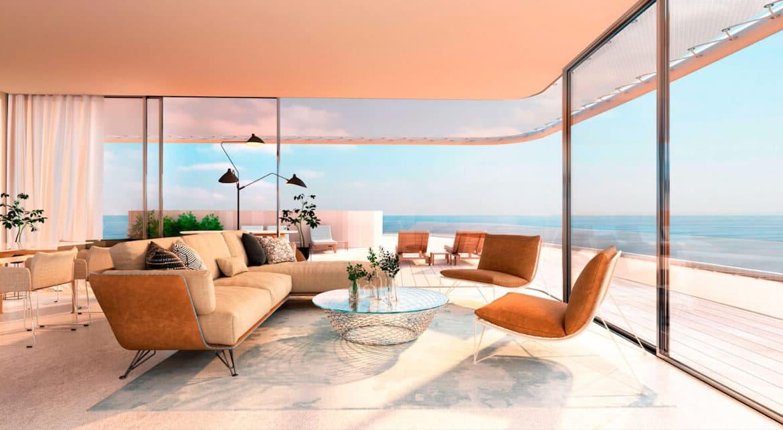 the edge estepona appartement eerstelijns strand zeezicht huis kopen marbella penthouse terras