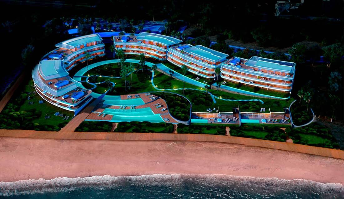 the edge estepona appartement penthouse eerstelijns strand zeezicht huis te koop marbella project