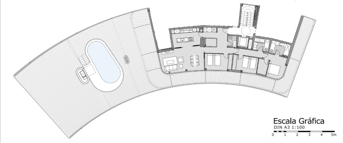 the edge estepona penthouse solarium te koop grondplan