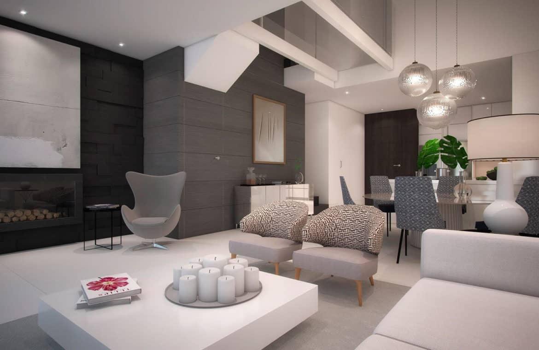 the island estepona eerstelijns strand huis salon