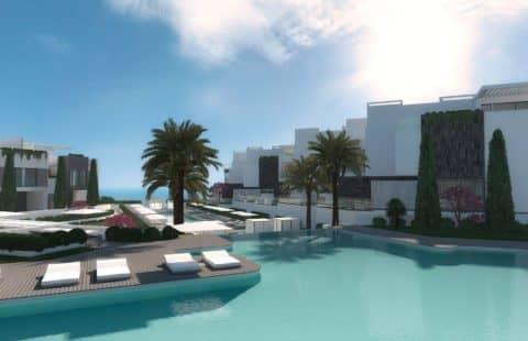 The Island: eerstelijns zee luxe huizen op een bevoorrechte ligging (Estepona)
