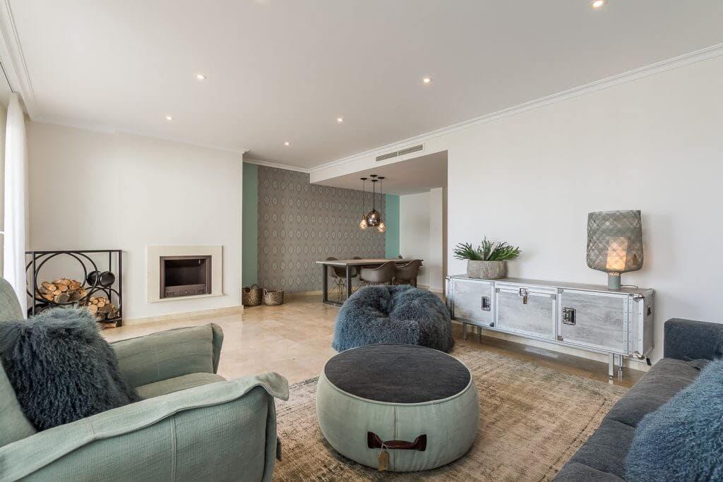 the oakhill oost marbella la mairena appartement penthouse te koop open haard
