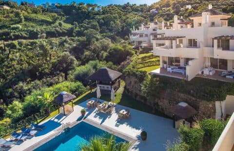 The Oakhill Marbella: rustig gelegen villa-appartementen (La Mairena)