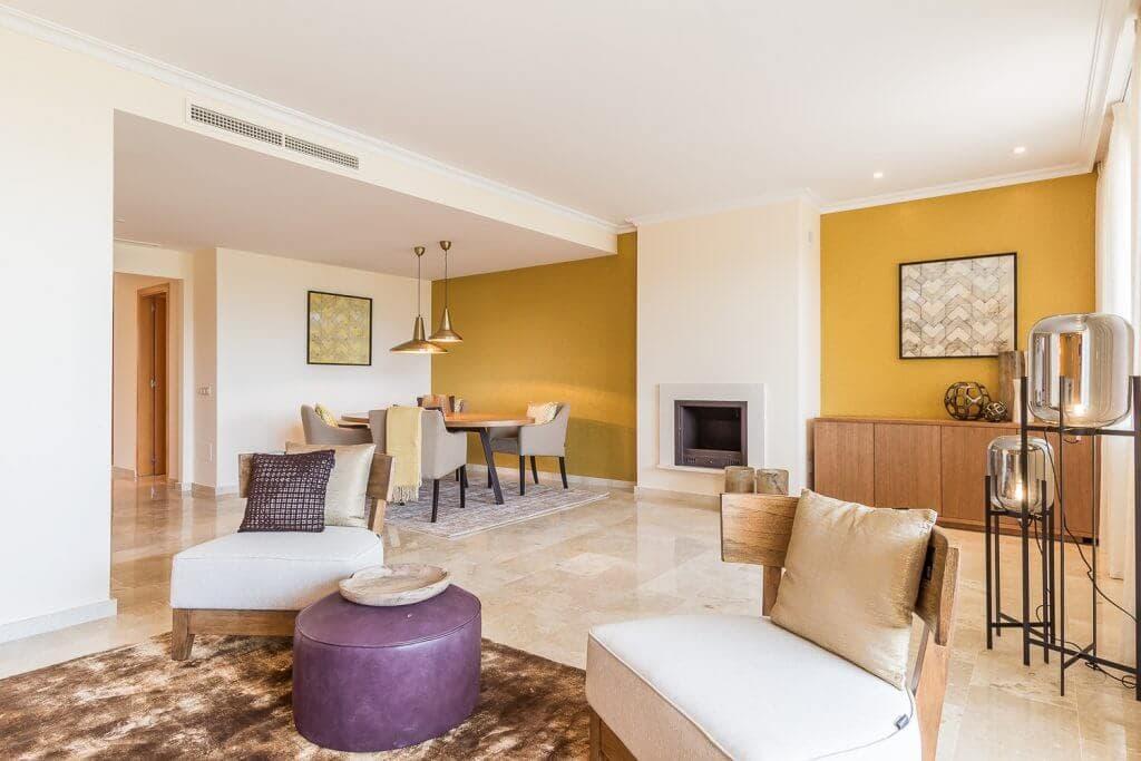 the oakhill oost marbella la mairena appartement penthouse te koop salon overzicht