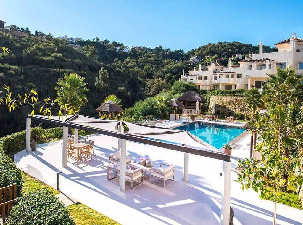 the oakhill oost marbella la mairena appartement penthouse te koop zwembaden