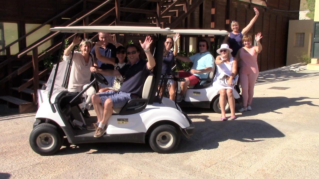 vamoz event marbella golfcart