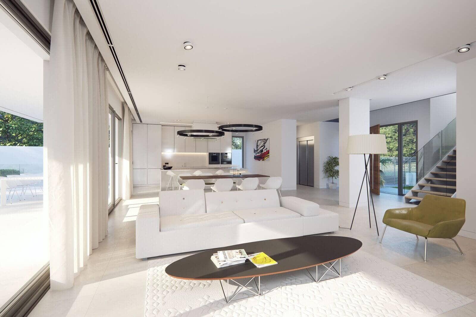 Villas gardenias moderne off plan villas op topligging for Moderne living