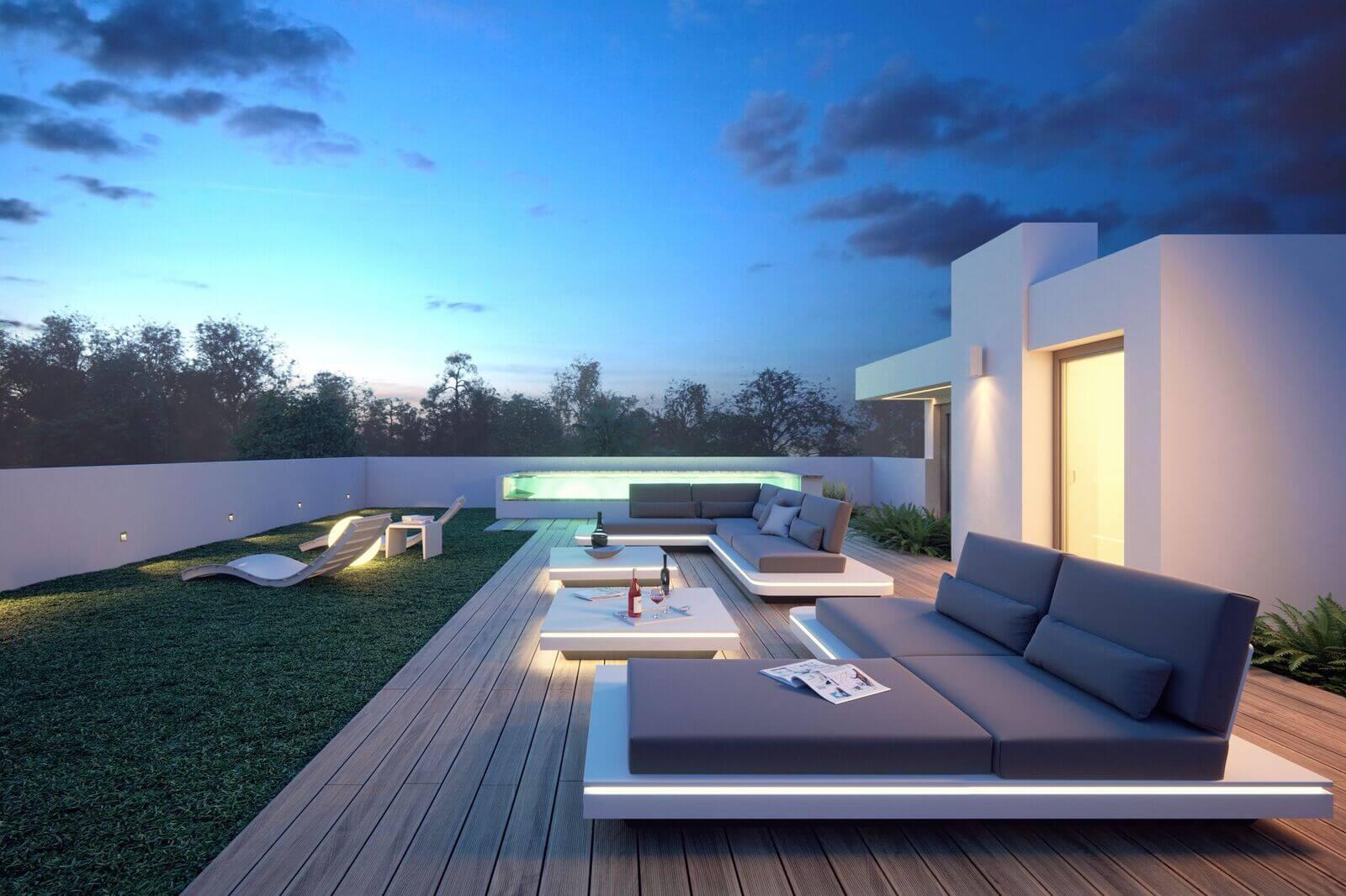 villas gardenias puerto banus nueva andalucia marbella huis te koop moderne villa dakterras