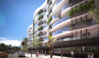 infinity modern appartement kopen estepona balkon