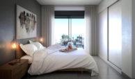 infinity modern appartement kopen estepona master slaapkamer