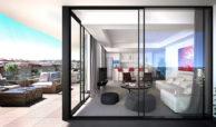 infinity modern appartement kopen estepona salon