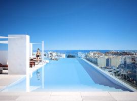infinity modern appartement kopen estepona zwembad dakterras