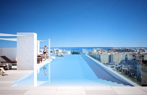 Infinity: moderne appartementen in het bruisende stadscentrum (Estepona)