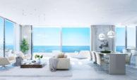 Larimar Las Lagunas de Mijas luxe appartementen te koop zeezicht living