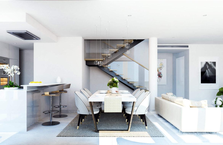 Larimar Las Lagunas de Mijas luxe appartementen te koop zeezicht penthouse