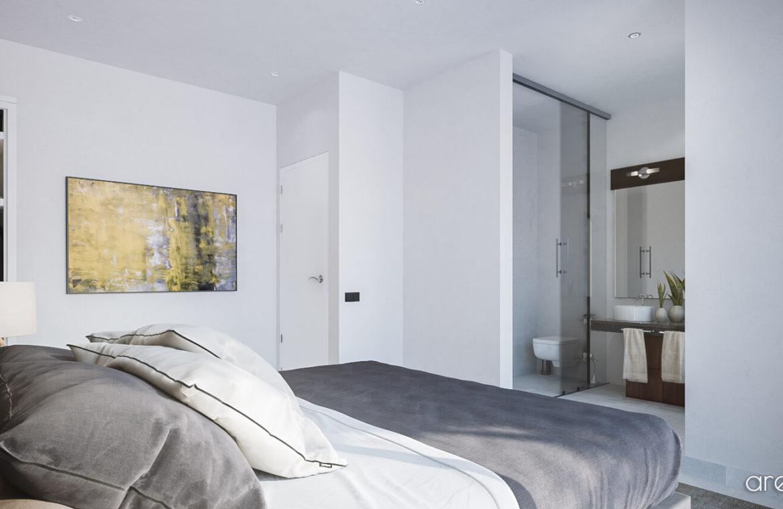 Larimar Las Lagunas de Mijas luxe appartementen te koop zeezicht slaapkamer