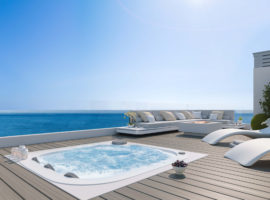 Larimar Las Lagunas de Mijas luxe appartementen te koop zeezicht solarium