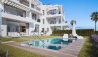 Larimar Las Lagunas de Mijas luxe appartementen te koop zeezicht zwembad