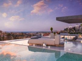 el campanario hills estepona modern appartement te koop dakterras
