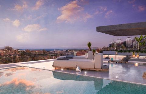El Campanario Hills: duplex penthouses met zwembad (New Golden Mile)