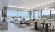 el campanario hills estepona modern appartement te koop eethoek