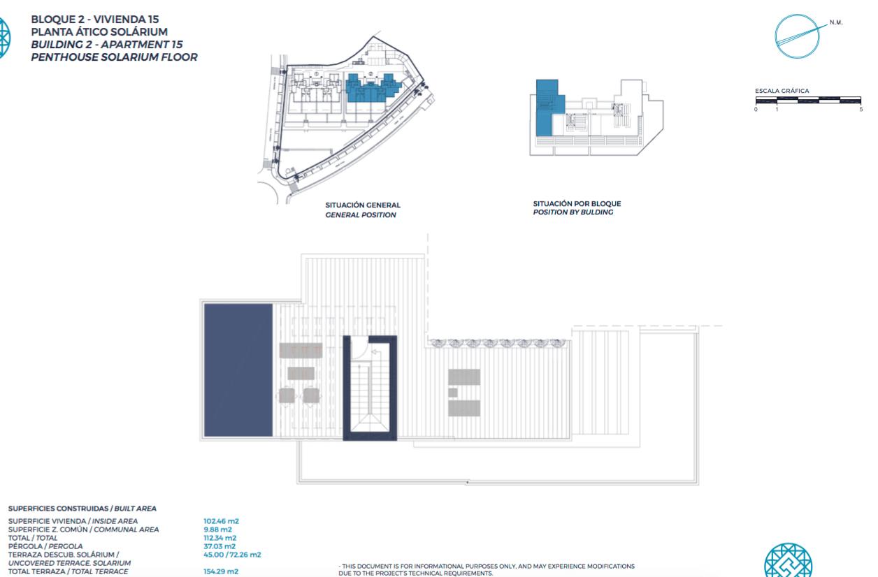 el campanario hills estepona modern appartement te koop grondplan penthouse dakterras 2 slaapkamers