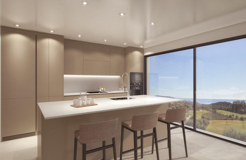 el campanario hills estepona modern appartement te koop keuken