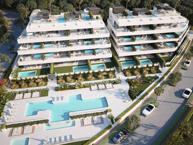el campanario hills estepona modern appartement te koop overzicht