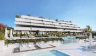 el campanario hills estepona modern appartement te koop solarium