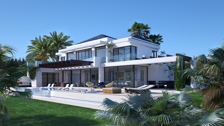 golf la alqueria benahavis hedendaagse villa kopen design