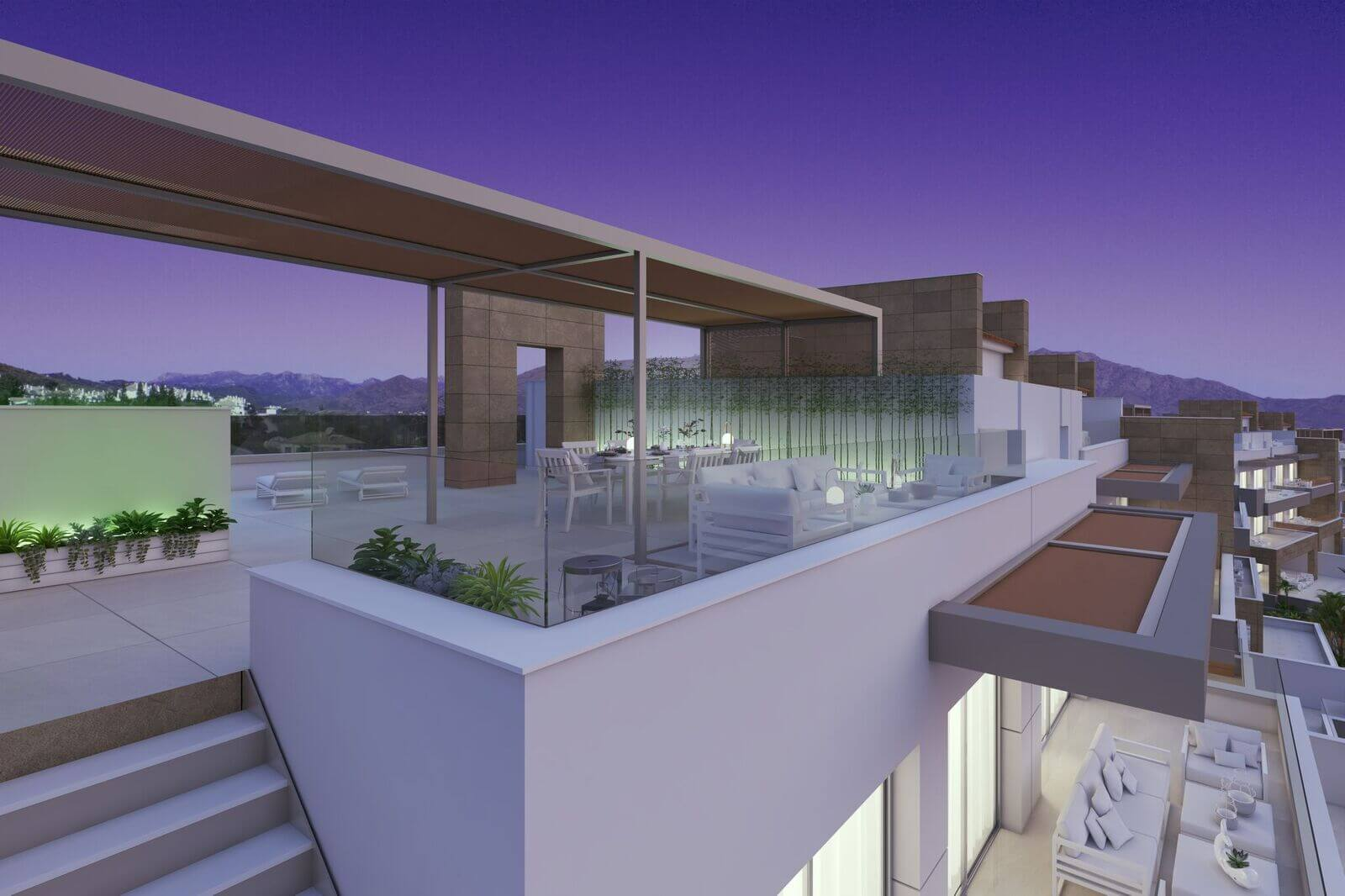 grand view la cala penthouse te koop dakterras