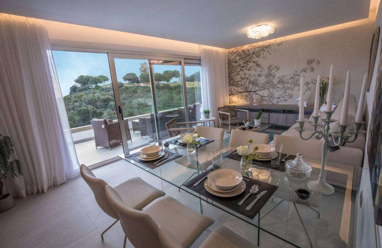 grand view la cala te koop modern appartement penthouse nieuwbouw living