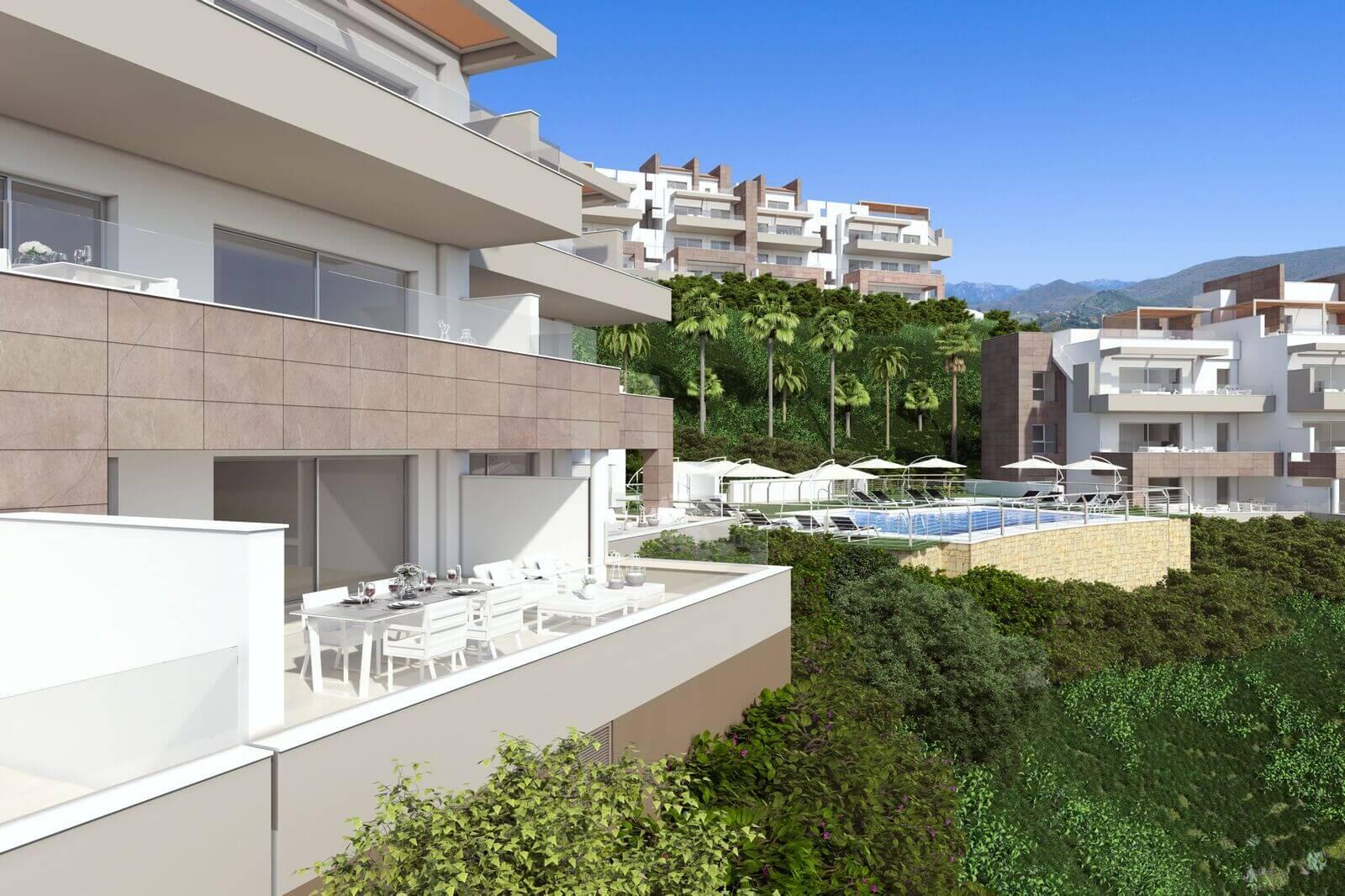grand view la cala te koop modern appartement penthouse nieuwbouw zichten