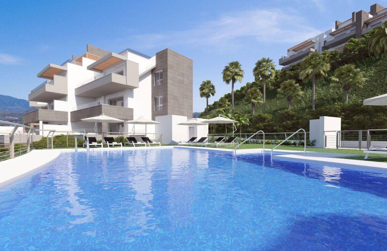 grand view la cala te koop modern appartement penthouse nieuwbouw zwembaden