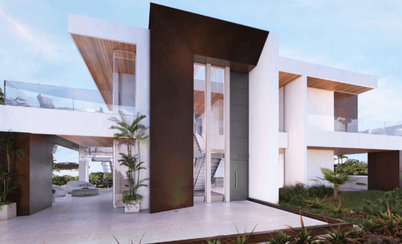 la cerquilla nueva andalucia moderne villa kopen ligging