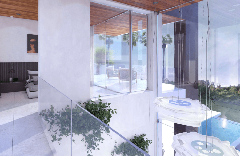 la cerquilla nueva andalucia moderne villa kopen overloop