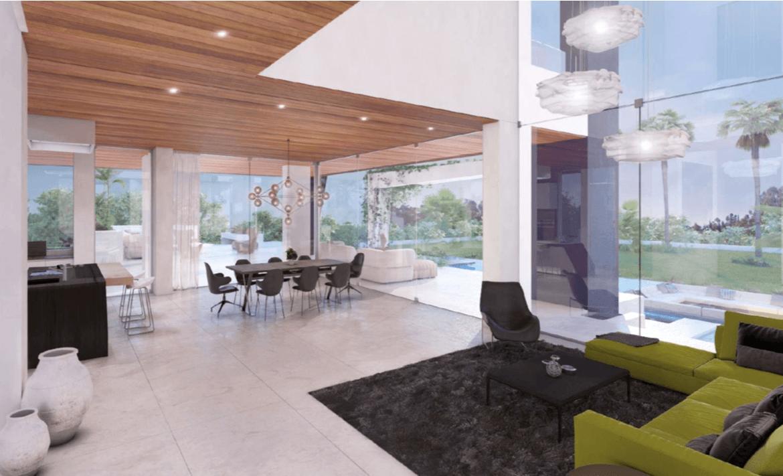 la cerquilla nueva andalucia moderne villa kopen salon