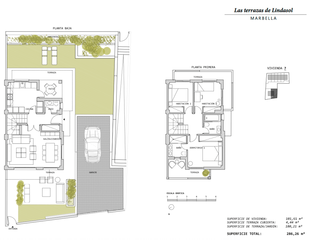 las terrazas de lindasol marbella huis te koop rijhuis grondplan 7