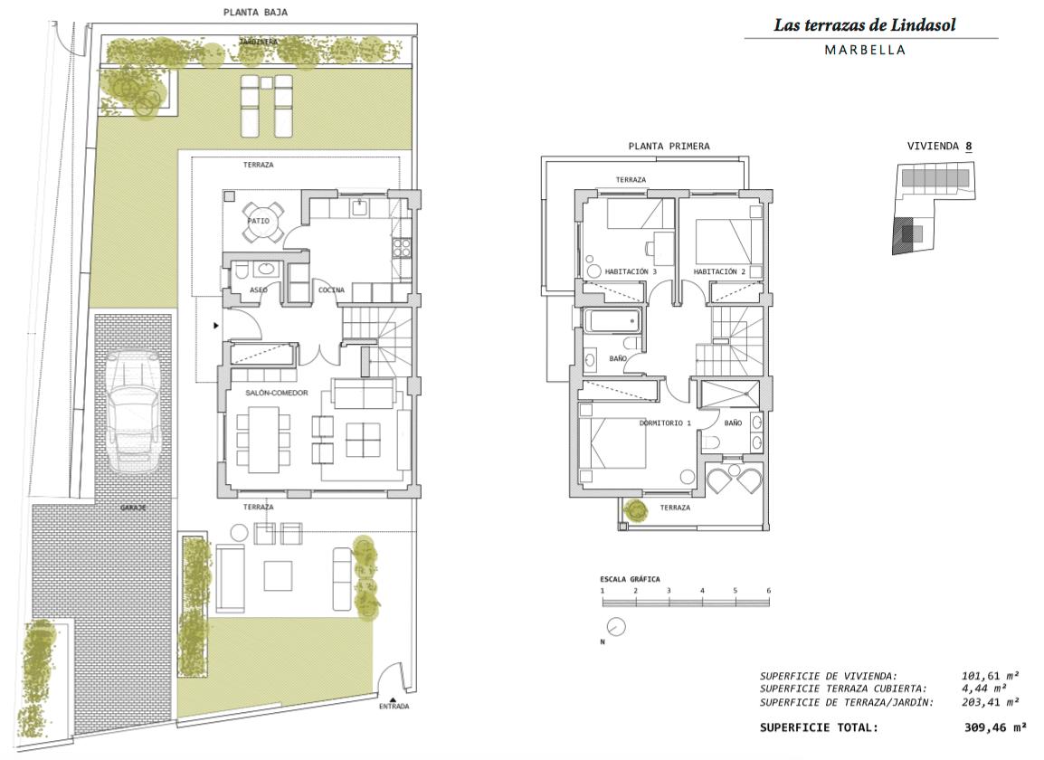 las terrazas de lindasol marbella huis te koop rijhuis grondplan 8