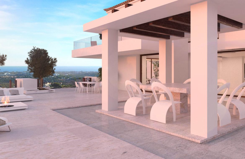 los almendros benahavis luxe moderne villa kopen design chill out